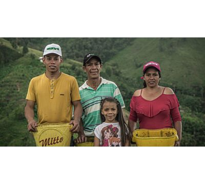 Ethical practices and authentic Colombian coffee