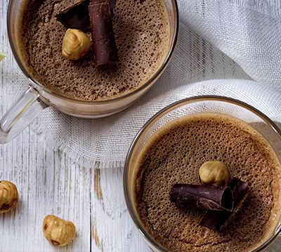 Chocolate and Hazelnut Coffee Mousse
