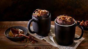 Caramel Mocha Mug Cake