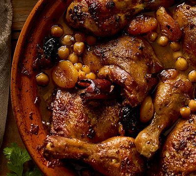 Coffee and Chicken Tagine